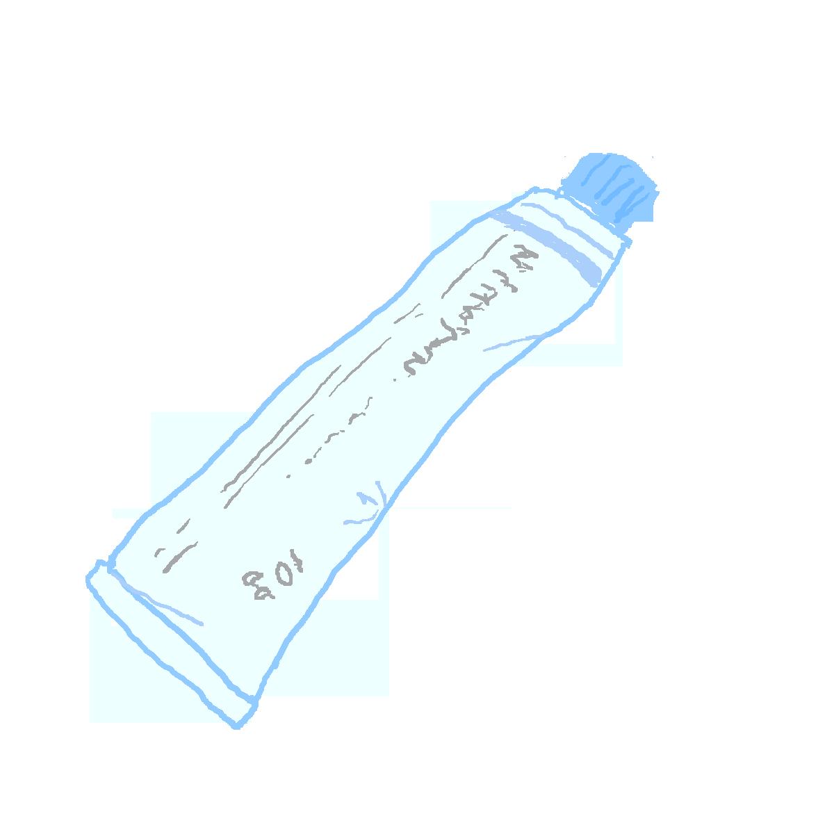 チューブ状の塗り薬