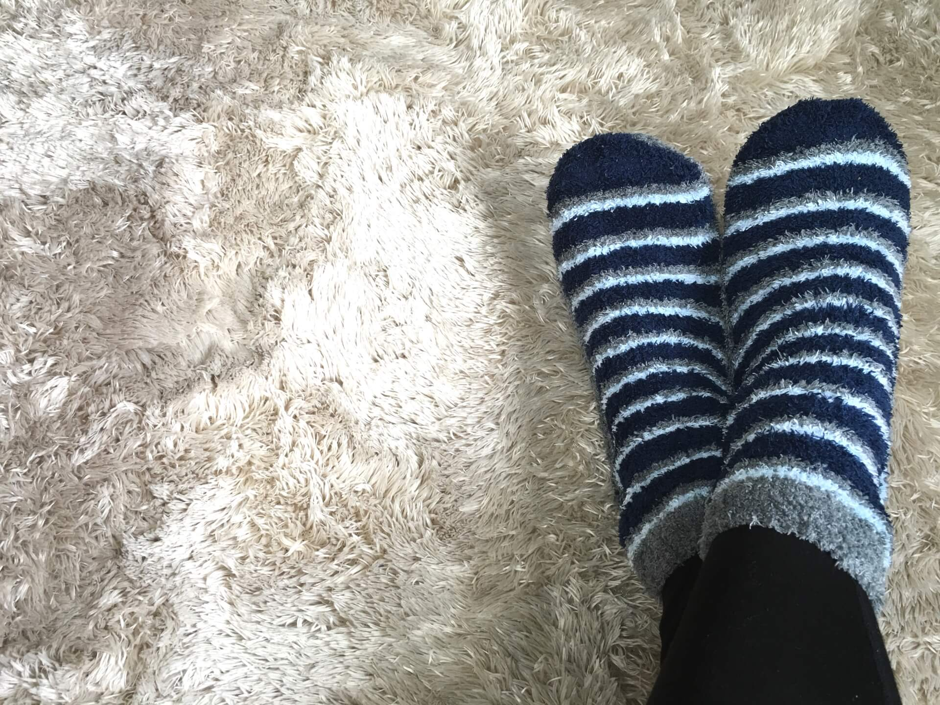 冷え性の足