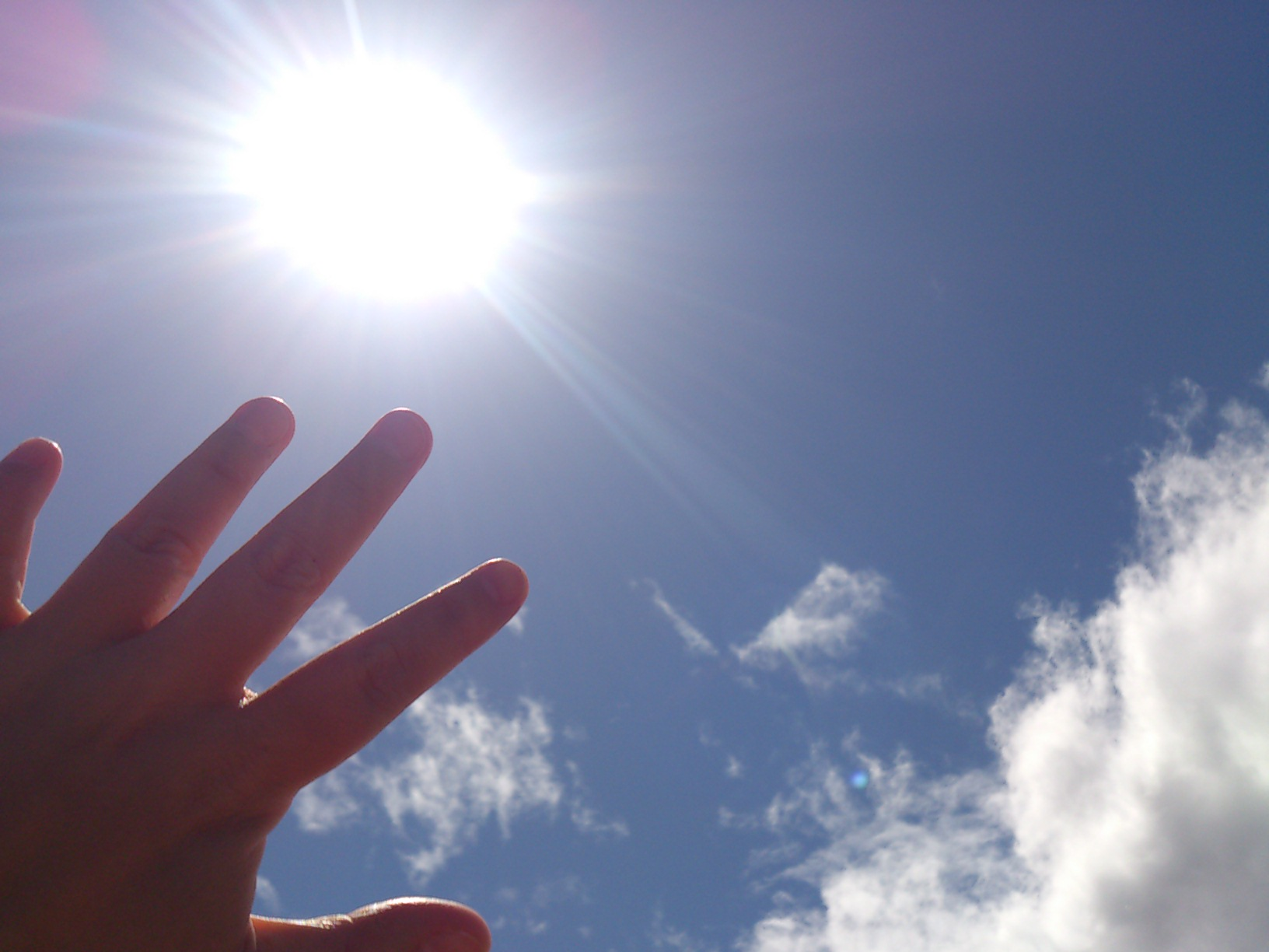 紫外線を防ぐ