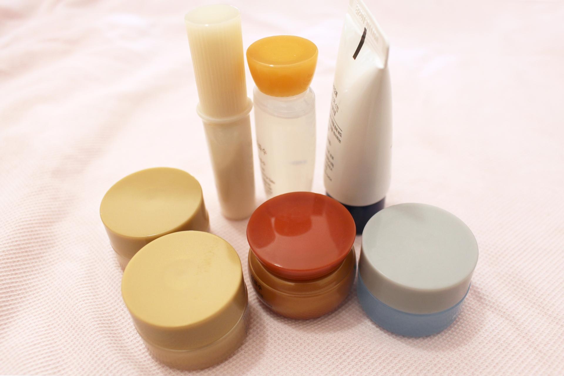 化粧品の試供品